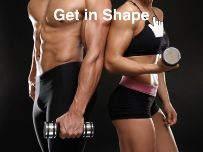 Get in shape   loose or gain weight   improve your power to heal your ody